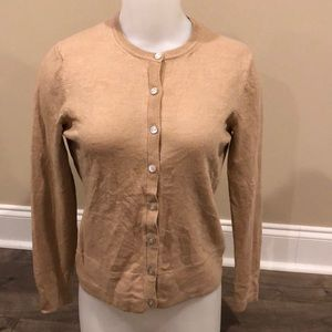 Brooks Brothers Saxxon Wool Cardigan Size Large